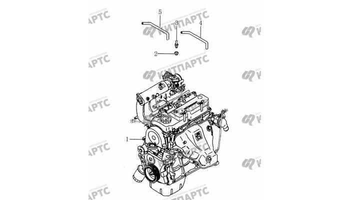 Клапан вентиляции картера BYD F3 (F3R)