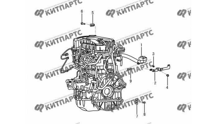 Жгут проводов двигателя Dong Feng S30