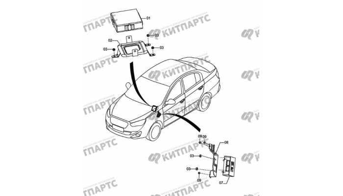 Блок управления двигателем FAW Oley