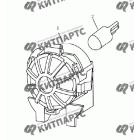 Лампа багажника (седан)