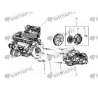 Двигатель MR481QA в сборе
