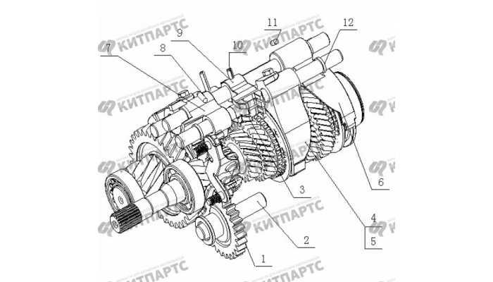 S160 Вилки переключения передач Geely Otaka (CK)